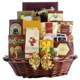 Great Arrivals Bountiful Gourmet Wishes Thanksgiving Gift Basket