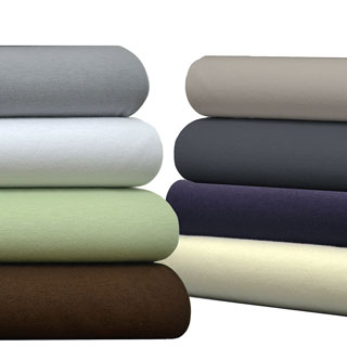 Brielle Jersey Knit Cotton Sheet Set