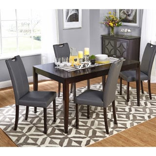 Simple Living 5-piece Wenge Tilo Dining Set