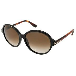 Tom Ford Women's TF0343 Milena Round Sunglasses