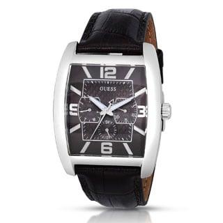 Guess Men's W80009G2 Power Broker Brown Dial Watch