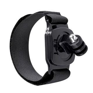 INSTEN Black Secure Wrist Strap Sport Arm Band Mount for GoPro Hero 1/ 2/ 3/ 3+