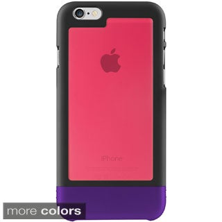 INSTEN TriTone Unique Combo Rubberized Matte Slim Protector Case for Apple iPhone 6 4.7-inch