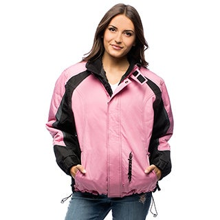 Mossi Women's Pink/ Black Serenity Outdoor Jacket