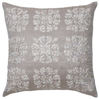 Modern Living Emery Damask Sequin Decorative Pillow