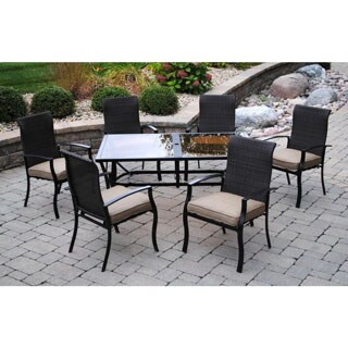 Sun Casual Oak Meadow 7-piece Patio Dining Set