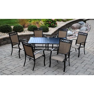 Sun Casual Arrabelle 7-piece Outdoor Dining Set