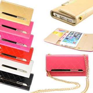 Gearonic Leather Credit Card Holder Wallet Case for Apple iPhone 6