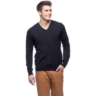 Cullen Brushed V-neck Sweater