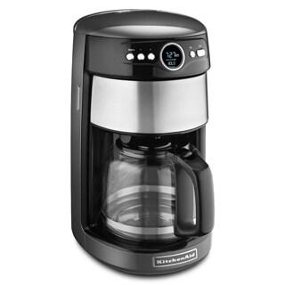 KitchenAid KCM1402QG Liquid Graphite 14-cup Glass Carafe Coffee Maker