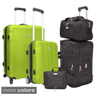 Traveler's Choice Rome 5-Piece Hardside and Softside Luggage Set