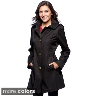 Anne Klein Women's Hooded Walker Jacket