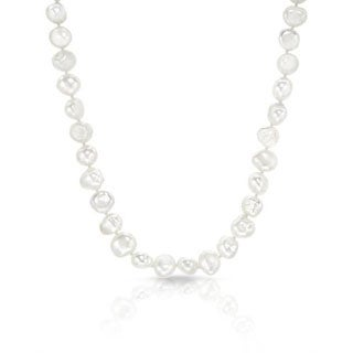 Necklace with 9mm Freshwater Pearls