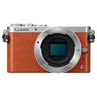 Panasonic DMC-GM1 16MP Orange Digital Camera Body Only