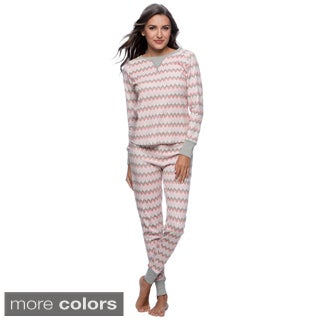 Hadari Women's Thermal Pajama Set