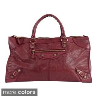Balenciaga 12 Work Leather Handbag