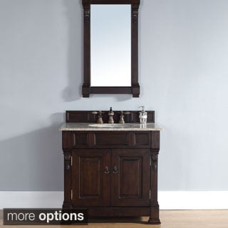 36-inch Brookfield Burnished Mahogany Single Vanity