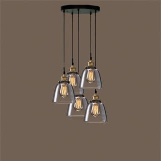 Euna Adjustable Cord Edison Lamp