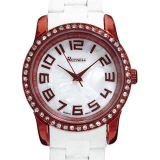 Raynell Women's QT144-3 Brown Metal Quartz Watch