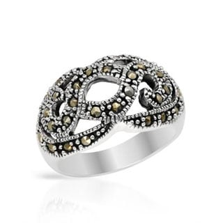 Sterling Silver Marcasites Ring