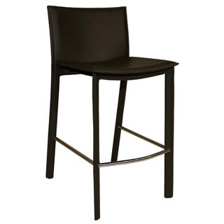 Red Stackable Modern Barstools Pack Of 2 13457469