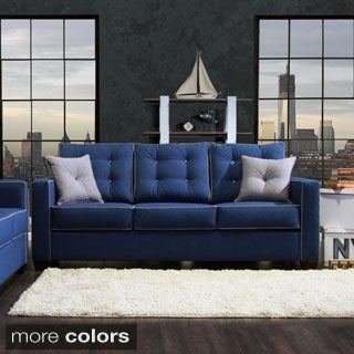 Furniture of America Lennons Urban Upholstered Sofa