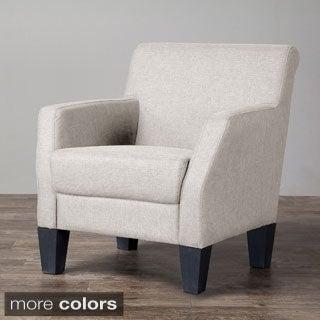 Baxton Studio Silhouettes Upholstered Modern Club Chair