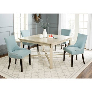 Safavieh Bleeker White Washed Dining Table