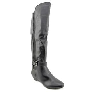 Madden Girl Women's 'Zilch' Black Over-the-Knee Boots