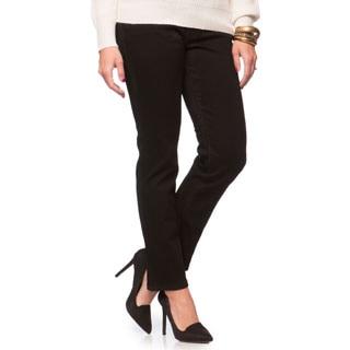 Levi's Women's Petite Black Ink Mid-rise Skinny Jeans