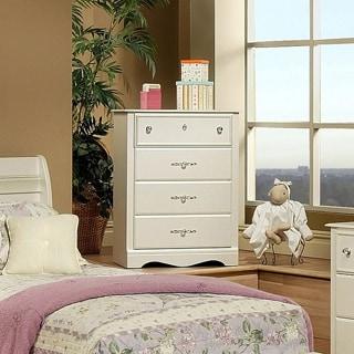 Sandberg Furniture Enchanted Pearl White 4-drawer Chest