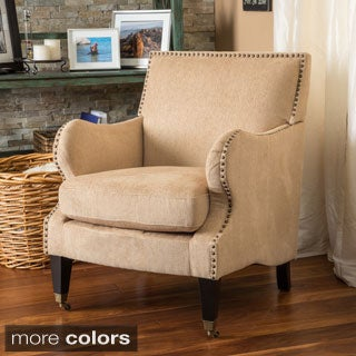 Christopher Knight Home Gregory Fabric Club Chair