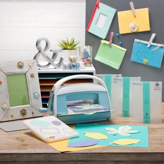 Cricut & Anna Griffin Cuttlebug Embossing Machine Bundle