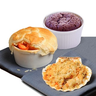 Romantic Lobster Pot Pie Dinner Bundle (Serves 2)