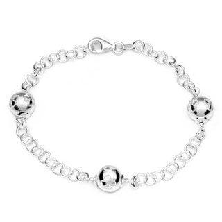 .925 Sterling Silver Silvex Bracelet