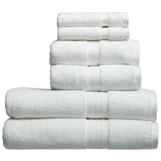 Lucia Minelli Luxury Ultra Soft Turkish Cotton 6-piece Towel Set
