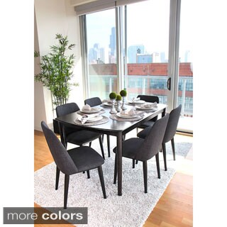 60-inch Tintori 7-piece Wood Dining Set