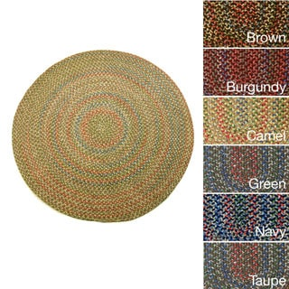 Katie Indoor/Outdoor Braided Rug (6' Round)