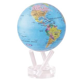 Blue Ocean 4.5-inch Solar Powered MOVA World Globe