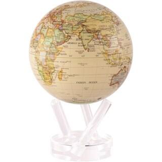 Antique Ocean Gloss 6-inch Solar Powered MOVA World Globe