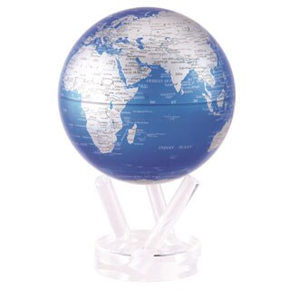 Cobalt Blue 6-inch Solar Powered MOVA World Globe