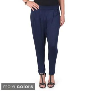 Hailey Jeans Co. Junior's Cotton Harem Pants