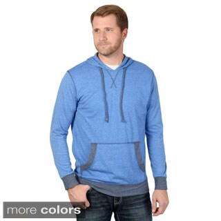 Vance Co. Men's Long Sleeve Lightweight Pull-over Hoodie