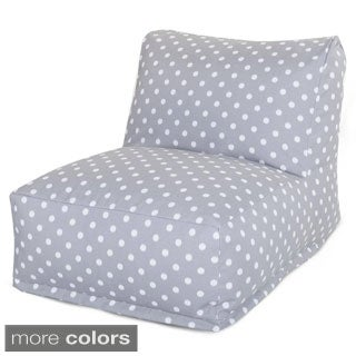 Majestic Home Goods Ikat Dot Bean Bag Lounger Chair