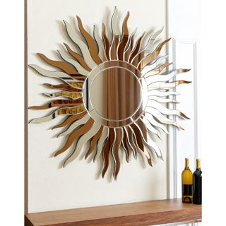 ABBYSON LIVING Sol Round Wall Mirror