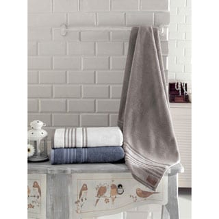 Enchante Brook 100-percent Fine Turkish Cotton Bath Towel (Set of 2)