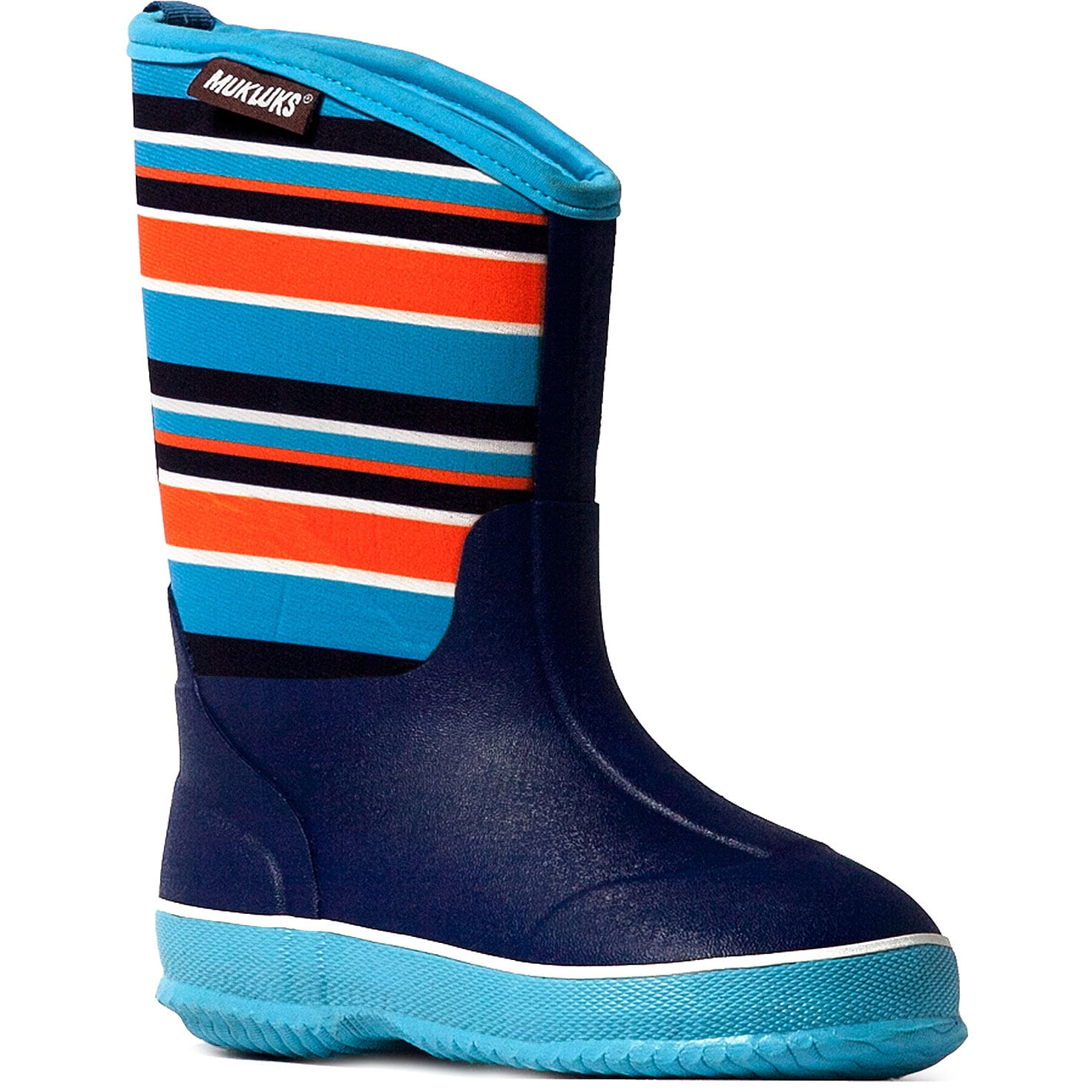 Muk Luks Boys 'Little Splashers' Blue Rain Boots