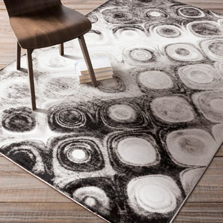 Artfully Crafted Janie Dots Area Rug (5'2 x 7'6)