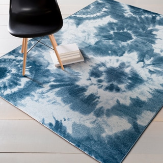 Artfully Crafted Ginny Dots Area Rug (5'2 x 7'6)