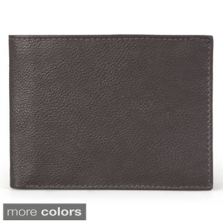 Joseph Abboud Men's Genuine Leather Passcase Wallet